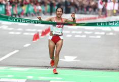 Gladys Tejeda pidió vacunación de atletas clasificados a Tokio 2020