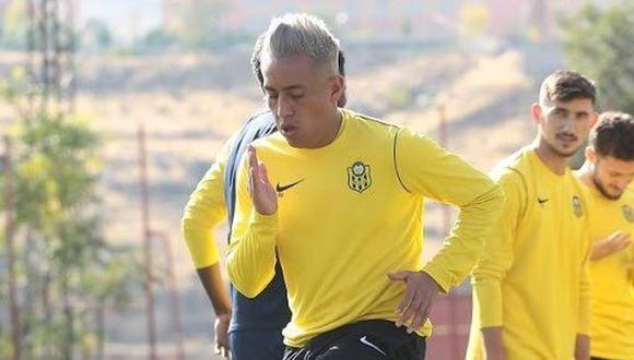 Christian Cueva llegó al Yeni Malatyaspor en agosto de este año. (Foto: Yeni Malatyaspor)