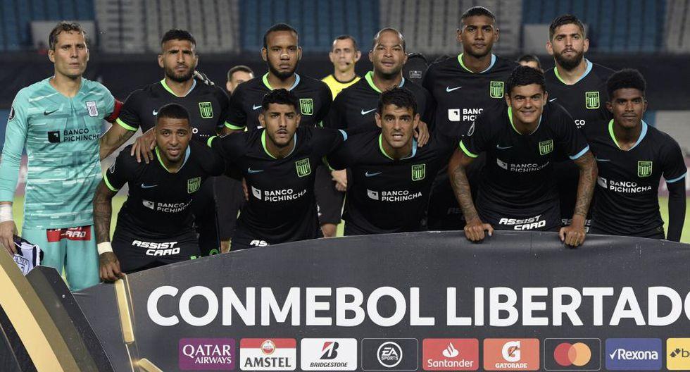 Alianza Lima vistió a Racing por la Copa Libertadores | Foto: Agencias