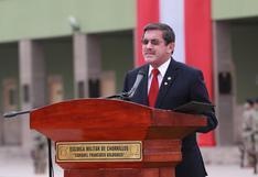 Ejecutivo designa como nuevo viceministro de Minas al extitular de Defensa Jorge Chávez
