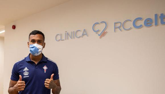 Renato Tapia convocado para iniciar la pretemporada. (Foto: Celta de Vigo)