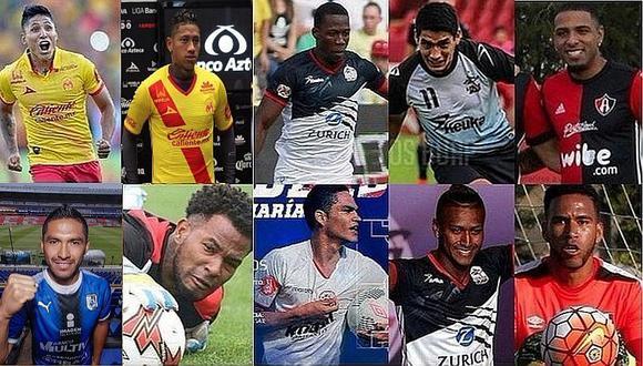 Liga MX: Once de los trece peruanos en México pelean el descenso