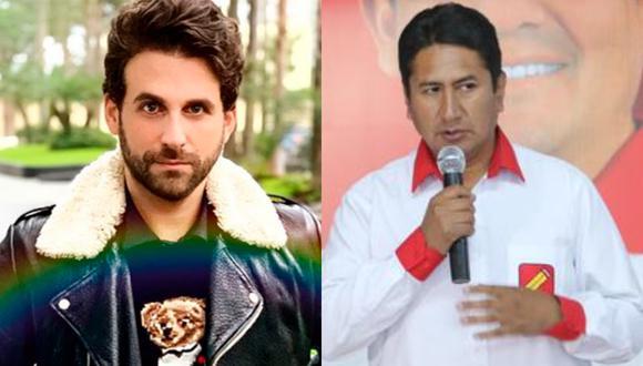 El conocido conductor de 'Amor y Fuego', 'Peluchin' no perdonó nada y le dijo de todo al presidente de Perú Libre, Vladimir Cerrón.