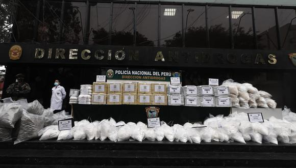 Decomiso de cuatro toneladas de droga se realizó en varias regiones en las últimas tres semanas. (Foto: : Cesar Campos / @photo.gec)