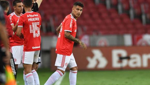 Paolo Guerrero estuvo en la lista de alternativas para la ofensiva de Sao Paulo. (Foto: Internacional)