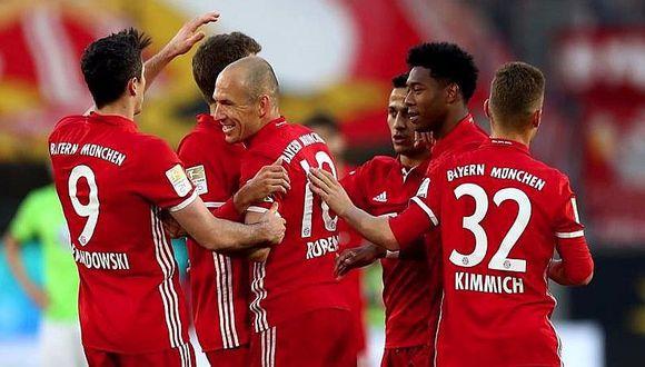 Bayern Munich se corona pentacampeón de la Bundesliga [VIDEO]
