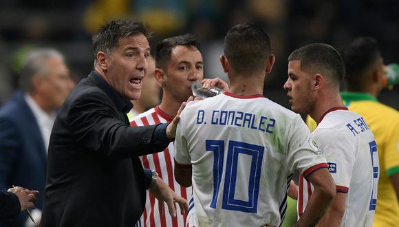 Paraguay se encuentra en la sexta posición de las Eliminatorias rumbo a Qatar 2022. (Foto: AFP)