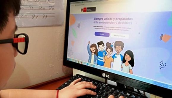 Minedu inaugura espacio para que escolares usen computadoras e internet de manera gratuita. (Foto: Minedu)
