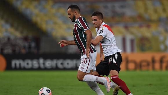 River Plate y Fluminense igualaron 1-1 en el estadio Maracaná por el Grupo D de la Copa Libertadores  (Foto: River).