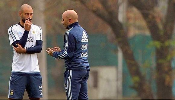Rusia 2018: ¿Por qué Jorge Sampaoli visitó a Javier Mascherano en Barcelona?