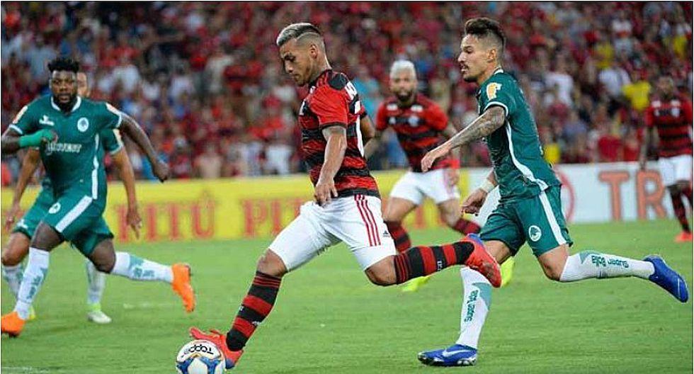 Miguel Trauco fue titular en triunfo de Flamengo y dio asistencia   VIDEO