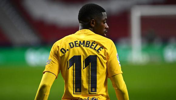 Ousmane Dembélé es jugador de Barcelona desde agosto del 2017. (Foto: AFP)