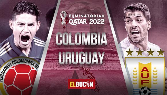 Colombia vs Uruguay EN VIVO desde la señal de Caracol TV por las Eliminatorias Qatar
