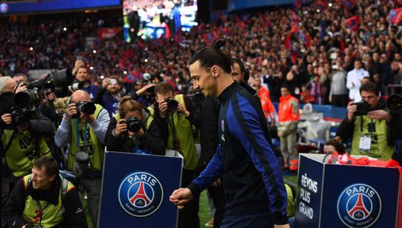 Zlatan Ibrahimovic intentó volver a PSG antes de renovar por PSG. (Foto: AFP)