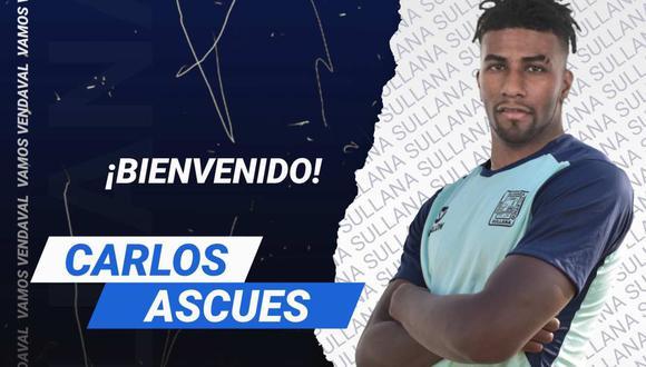 Alianza Atlético hizo oficial la llegada de Carlos Ascues. (Foto: @alianzasullana_)