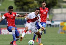 Selección peruana Sub 20 cayó contra Chile por 2-1 en cuadrangular amistoso