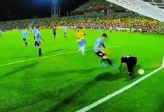 YouTube viral: autogol del portero de Uruguay ante Brasil en el Preolímpico Sub 23 da la vuelta al mundo [VIDEO]