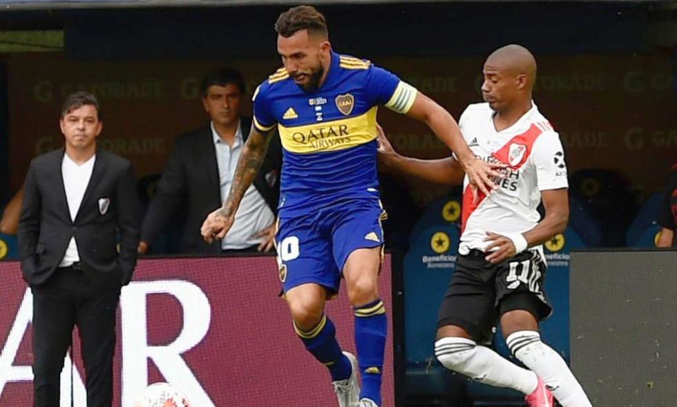 Boca vs River : el superclásico de Argentina quedó igualado 1-1. (Foto: web de Boca Juniors)