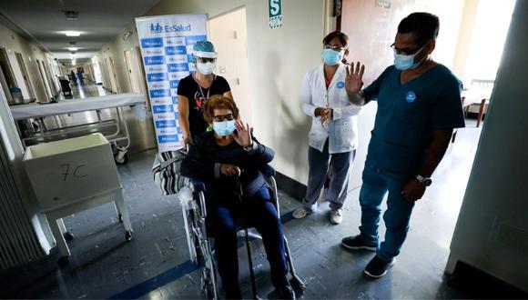 Desde que se inició la pandemia a la fecha, EsSalud atendió a más de 20,000 pacientes positivos, entre leves, moderados y críticos. (Foto: Essalud)