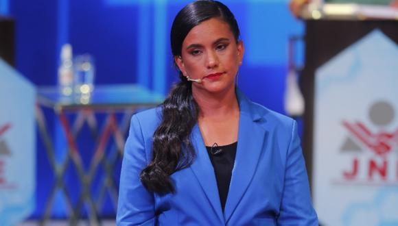 Verónika Mendoza dijo este viernes que, si gana las elecciones del 11 de abril. FOTO: GEC