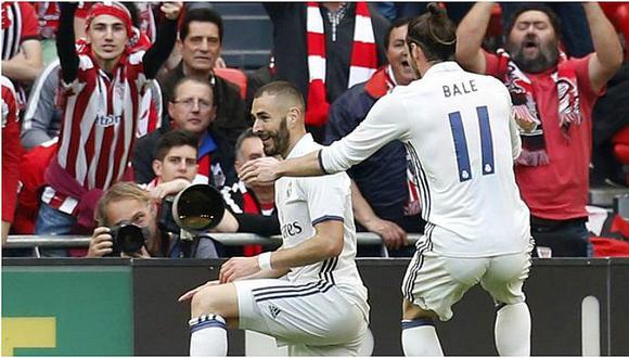 Real Madrid gana en San Mamés al Athletic Bilbao y sigue líder [VIDEO]