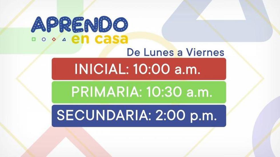 Aprendo en Casa EN VIVO - HOY 29 de mayo: horarios y programación para inicial, primaria y secundaria vía TV Perú