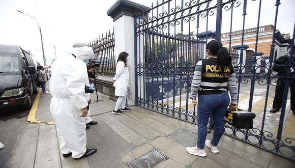 Ministerio Público investiga muerte de dos jóvenes en protestas contra Manuel Merino. (Foto: Jessica Vicente/ @photo.gec)