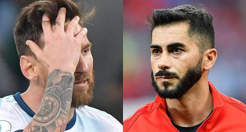 """Bicampeón de Copa América con Chile destroza a Lionel Messi: """"Es un caradura"""""""