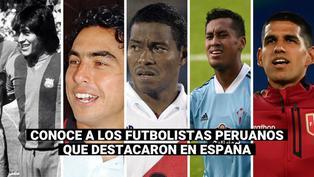 Luis Abram: ¿Qué futbolistas peruanos jugaron en España?