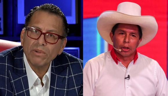 Phillip Butters arremetió contra el candidato presidencial de Perú Libre.