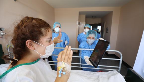 Este 21 de octubre se reporta un incremento en la cifra de pacientes recuperados de COVID-19. (Foto: Essalud)