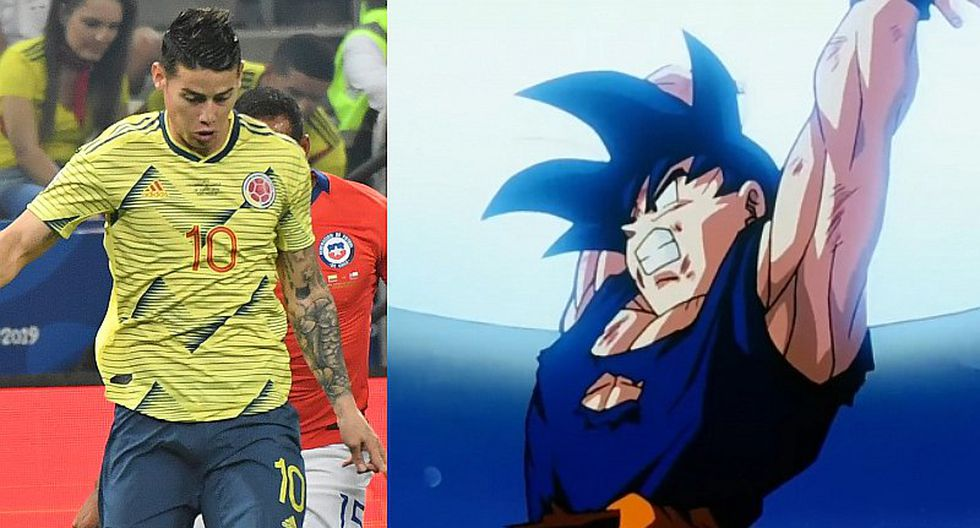 Copa América 2019 | Jehofred Sulca compara remate de James Rodríguez ante Chile con 'Genkidama' de Gokú | VIDEO