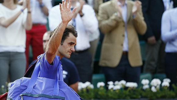 Roger Federer estará ausente en el Roland Garros
