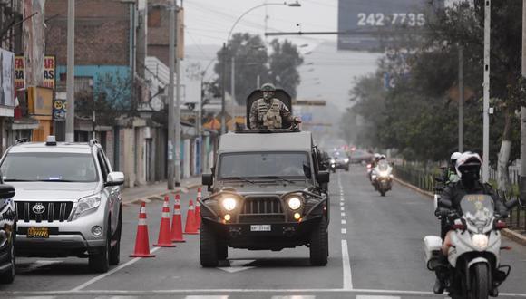 Así lucen las calles de Lima en el domingo de inmovilización por el COVID 19. Foto: GEC