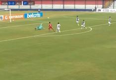 Alianza Lima vs. Sport Huancayo: Charles Monsalvo puso el 1-0 para el 'Rojo Matador'   VIDEO