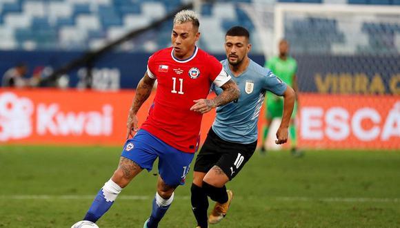 Eduardo Vargas suma 40 goles con la selección de Chile. (Foto: EFE)