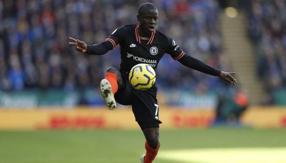 N'Golo Kanté es jugador del Chelsea desde la temporada 2016-17. (Foto: AFP)