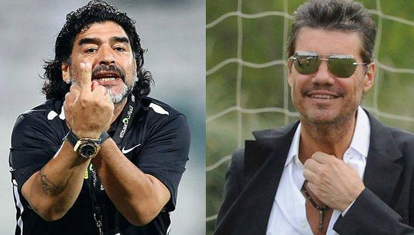 FIFA: Maradona amenaza renunciar si Tinelli sigue en Selección argentina