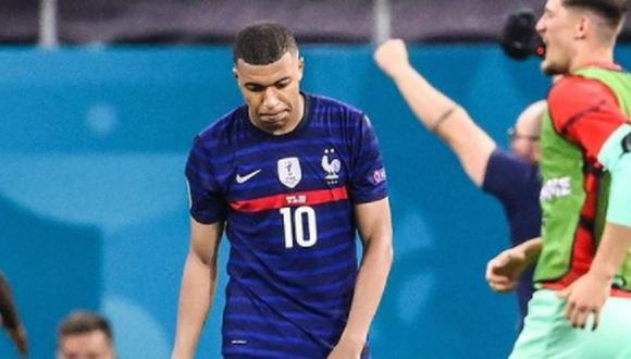 Kylian Mbappé lamentó la eliminación de la selección francesa. (Foto: Instagram)