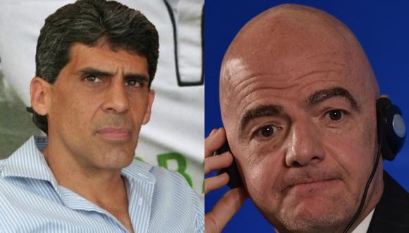 José Luis Noriega, expresidente de la CJ y Álvaro Barco, actual gerente de la San Martín, han realizado una solicitud formal para que la FIFA intervenga a la Federación Peruana de Fútbol