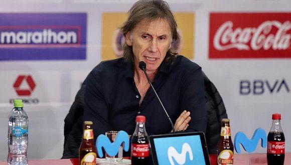 Ricardo Gareca confirma que la FPF pactó cuatro amistosos previos al inicio de las Eliminatorias Qatar 2020