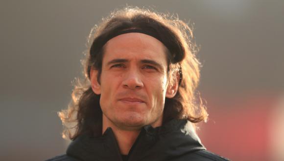 Edison Cavani está interesado en Boca Juniors, según Marcos Rojos. (Foto: AFP)