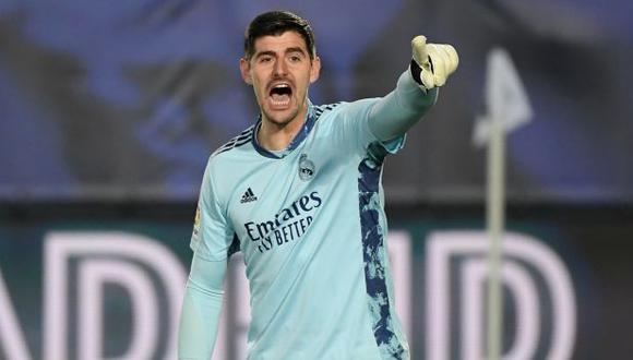 Thibaut Courtois hizo unas confesiones sobre el vestuario de Real Madrid. (Foto: AFP)