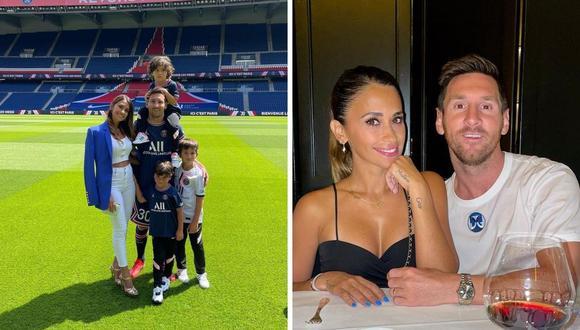 Lionel Messi y Antonela Roccuzzo se encuentran en la búsqueda de un inmueble para vivir con su familia. (Foto: Instagram @leomessi / @antonelaroccuzzo)