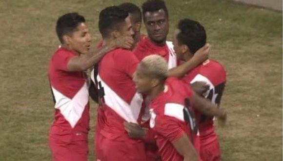 Perú vs. Islandia: Tapia adelanta a la bicolor con gol de cabeza