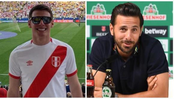 El emotivo mensaje de Juan Diego Li a Claudio Pizarro. (Foto: Instagram / AFP)