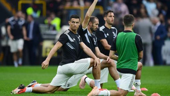 Giorgio Chiellini se refiere al paso de Cristiano Ronaldo por Juventus. (Foto: AFP)