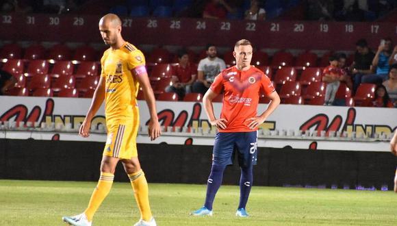 Jugadores de Veracruz protestaron, se quedaron parados y Tigres aprovechó para meter 3 goles en 5 minutos [VIDEO]