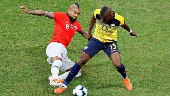 Ecuador vs. Chile se miden en la sexta jornada de las Eliminatorias Qatar 2022. (Foto: EFE)