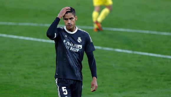 Por una lesión, Raphael Varane se perderá el Real Madrid vs. Chelsea de Champions League. (Foto: EFE)
